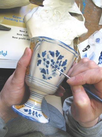 Ceramic Chalice Repair